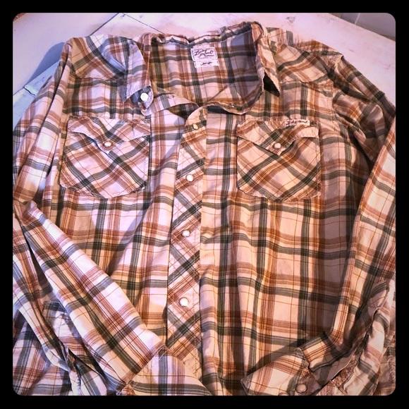 Lucky Brand Other - Lucky Brand Casual Snap Button Shirt
